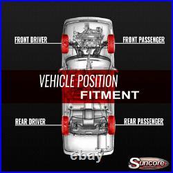02-06 Cadillac Escalade Set of 4 Active Suspension to Gas Shock Conversion Kit