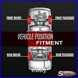 07-14 Cadillac Escalade ESV Front Strut & Rear Air Shocks Autoride Conversion