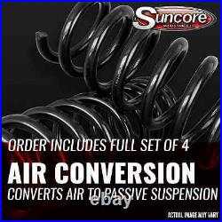 2000-06 BMW X5 E53 Front & Rear Air Suspension to Coil Spring & Strut Conversion