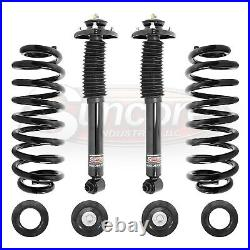 2000-2006 BMW X5 E53 Rear Air Suspension to Coil Spring Conversion Kit with Shocks
