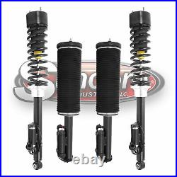 2000-2006 Mercedes S430 W220 Air to Coil Spring Suspension Conversion Kit