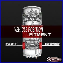 2002-2014 Cadillac Escalade Rear Electronic to Passive Air Shock Conversion Kit