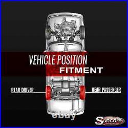 2004-09 Cadillac SRX Rear Active Suspension to Passive Gas Shocks Conversion Kit