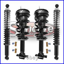 2007-2014 Chevy Suburban 1500 Autoride Conversion Struts & Shocks with Bypass