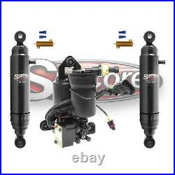 2007-2014 Chevy Tahoe Rear Autoride Air Shocks Conversion withCompressor Kit