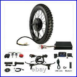48-72V 150A 5000W-8000W 21 Motorcycle Rear Wheel Ebike Conversion kit 26''x3.0
