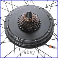48V 1000W 26 Rear Wheel Electric Bicycle LCD Meter Motor Kit ebike Conversion