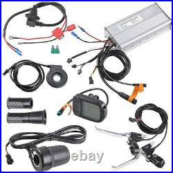 48V 1000W Rear Wheel Electric Bicycle E-Bike Conversion Kit Cycling Motor with LCD