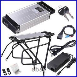 48V 14.5AH Battery Lithium Rear Rack for Electric Ebike Motor Conversion Kit