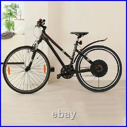 48V1500W Rear Electric Bicycle Motor Conversion Kit EBike Wheel Cycling Hub 26
