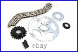 530 Chain Sprocket Final Drive Conversion Kit 00-20 Harley 883 1200 Sportster XL