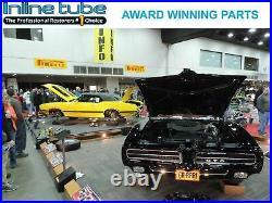 64-77 GM 10 12 bolt Rear Axle End Disc Brake Conversion Kit CROSS DRILLED ROTORS