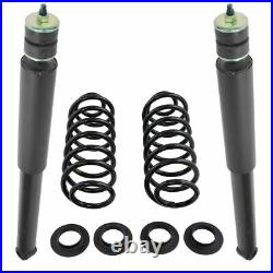 Air Suspension to Coil Spring Conversion for Crown Victoria Grand Marquis