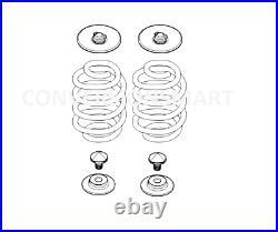 BMW X5 Rear Air Suspension Bag to Coil Spring Conversion Kit E70 2007-2013
