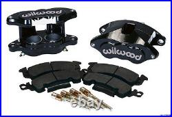 Chevy BelAir 55-58 Front & Rear Wilwood Disc Brake Stainless Oval Conversion Kit