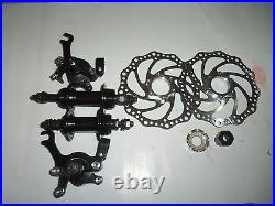 Complete Bike Disc brake conversion kit for all bike(front&rear)(free tools)