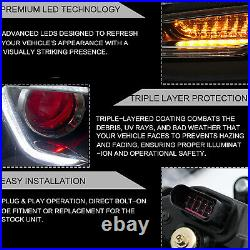 Customized LED Headlights withDEMON EYS+SMOKED Taillights for 2011-2014 VW JETTA