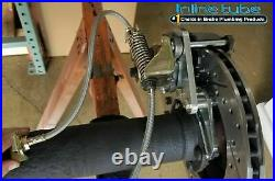 FORD 9 8 Rear Axle End Disc Brake Conversion Kit Small Bearing St ROTOR noPARK