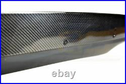 For 10-13 Camaro Rear Trunk Spoiler Wing ZL1 Style With Carbon Fiber Wicker Bill