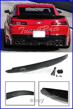 For 14-15 Chevrolet Camaro Rear Trunk ZL1 Style Wing Lip Spoiler With Wicker Bill