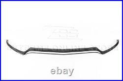 For 15-18 W205 C-Class AMG Sport CARBON FIBER Front Bumper Lower Lip Splitter