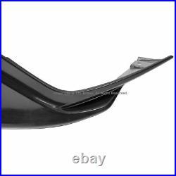 For 16-Up Honda Civic Coupe Sedan JDM Front Bumper Side Air Dam Lip Splitters