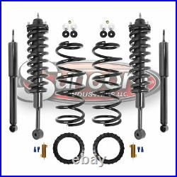 For 2003-09 Lexus Gx470 Front & Rear Air To Struts & Coil Spring Conversion Kit
