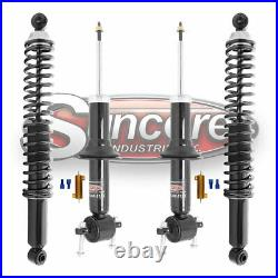 For 2007-2014 Chevy Tahoe Front Struts & Rear Coil Spring Shocks Conversion Kit