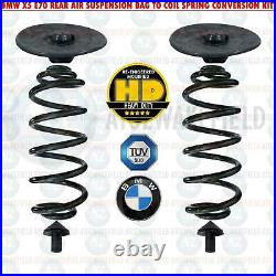 For Bmw X5 E70 Rear Air Suspension Bag To Coil Spring Conversion Kit Heavy Duty