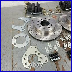 Ford 8 9 Standard Rear Disc Brake Conversion Kit, Universal Ford Cars Rear Kit