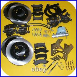 Front & Rear Disc Brake Conversion Kit Master Cyl for Toyota Land Cruiser FJ40
