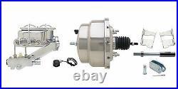 GM 1959-64 4 Wheel Power Disc Brake Conversion Kit & Tubular Control Arm Set