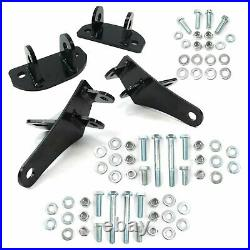 GM 78-88 G Body 64-74 A-Body Upper & Lower Rear Coilover Conversion Brackets Kit