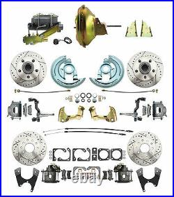 GM A, F, X Body Front & Rear 11 Power & Performance Disc Brake Conversion Kit