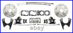 GM & Chevy 10 / 12 Bolt High Performance 11 Rear Disc Brake Conversion Kit, BLK