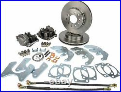JEGS 631026 Ford 9 in. Passenger Car Rear Disc Brake Conversion Kit Standard