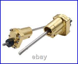 KYX SCX10 II Brass Rear High Lift Portal Axle Conversion Kit Portal Parts (92g)