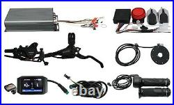Power! 48-72V 5000-8000W 19 Rear Motorcycle Wheel Conversion kit+Color Ebike