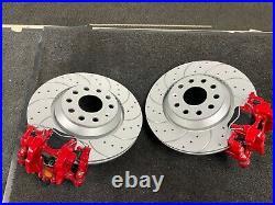 Rear Big Brake Disc Conversion Caliper Kit Ate For Golf R Audi S3 Rs3 Tt Leon