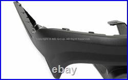 Rear Lower Diffuser For 2010-2012 Ford Mustang GT500 PP Black Valance Body Kit