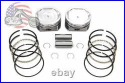 Sportster 883 to 1200 Conversion Piston Pistons Ring Kit Standard Bore 3.498 XL
