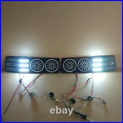 Toyota Supra MK3 CIRCLES LED Lanterns Conversion Kit (restyle 89+)