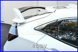 Type R Style Rear Trunk Wing Spoiler Body Kit For 16-Up Honda Civic Hatchback